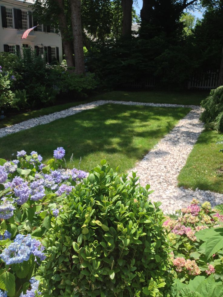 Oyster shell path garden pinterest oyster shells for Crushed oyster shells for landscaping