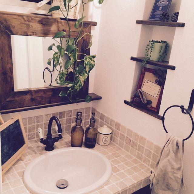 tomatoさんの、洗面所,バス/トイレ,のお部屋写真