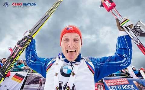 Second place in Oberhof season 2015/16        #ceskybiatlon