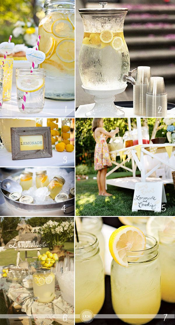 Limonade wedding events pinterest pi ces de for Meuble bar a boisson