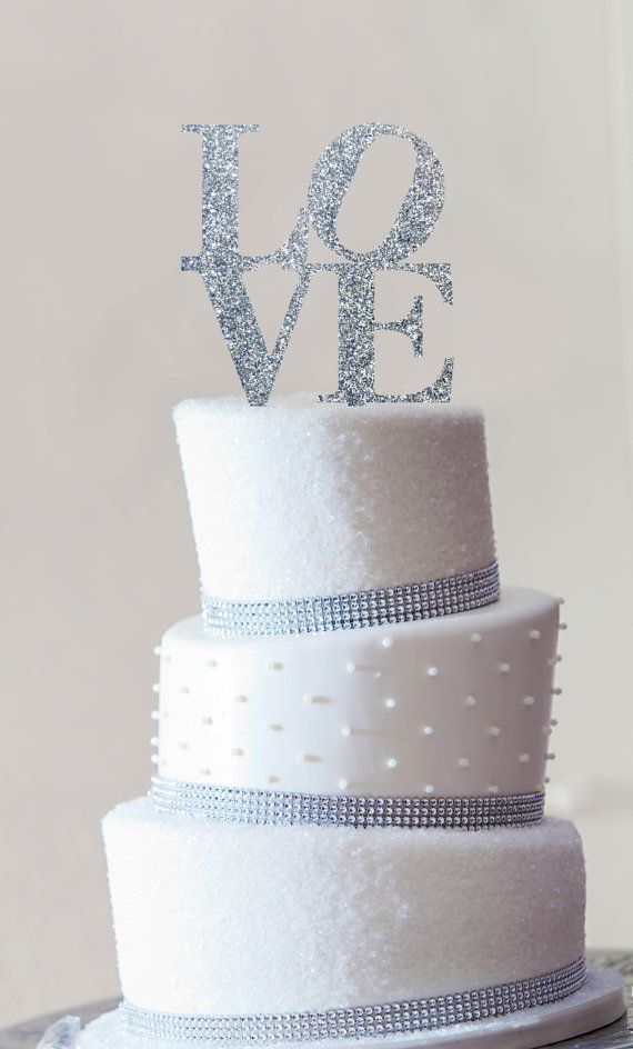Philadelphia LOVE Wedding Cake Topper in your by ChicagoFactory