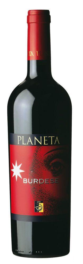 Vino BURDESE PLANETA IGT SICILIA 2009 CL 75