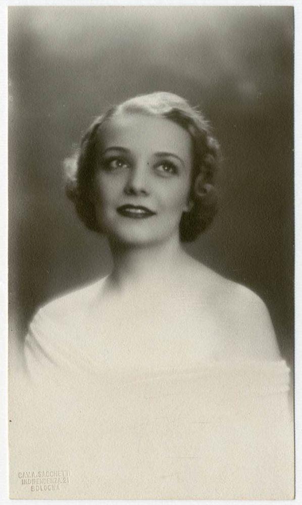 DONNA ADA Foto Ritratto d Epoca Old Photo Portrait Vintage 1935 Moda F289