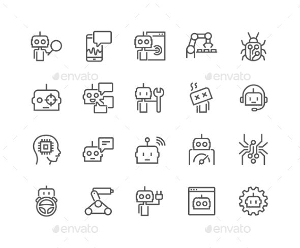 Line Bot Icons