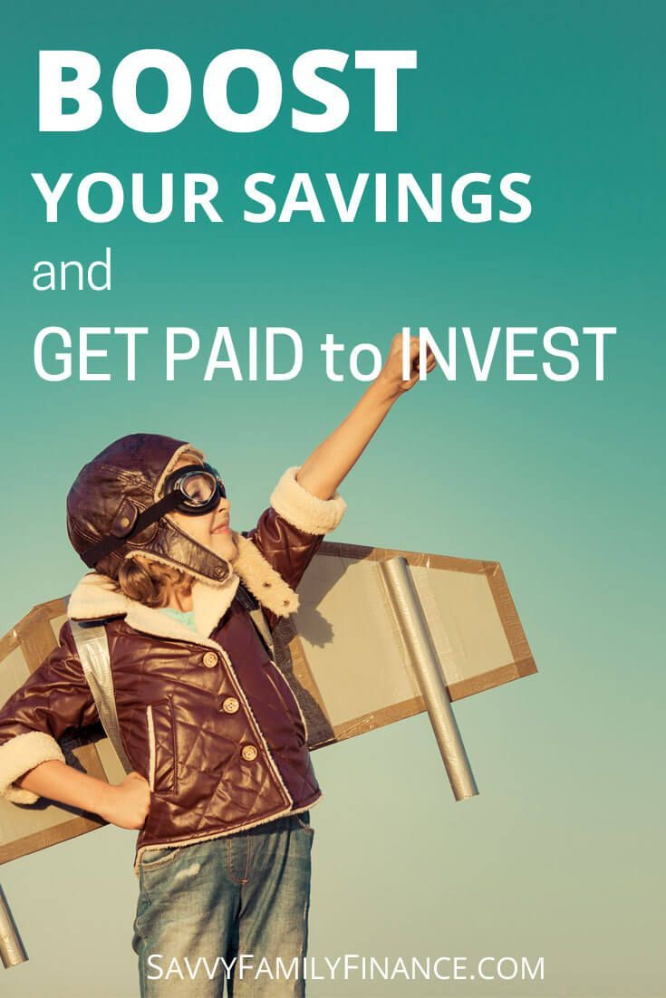 Find out how to boost your savings with dividend reinvestment and essentially get paid to invest. via @savvyfamfinance  investing | investments | dividends | retirement | savings