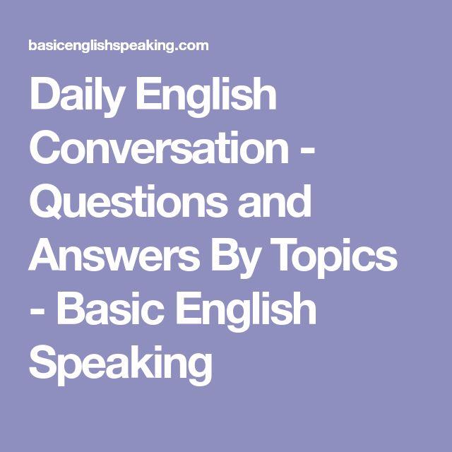 english conversation topics for beginners pdf