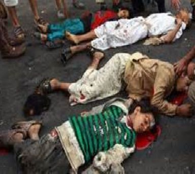 America DRIVES genocide in Yemen to gain foothold to Africa to compete w/ China's increasing influence there - capitalism is MURDERING Yemeni people, making Saudis the bad-guy carrying out their mission. Trump INCREASES drone war against the Yemeni people.  http://www.globalresearch.ca/us-nato-is-using-saudi-arabia-the-west-is-the-true-perpetrator-of-genocide-in-yemen-genocide/5581737 http://www.globalresearch.ca/pentagon-heads-toward-escalating-genocide-in-yemen/5581990