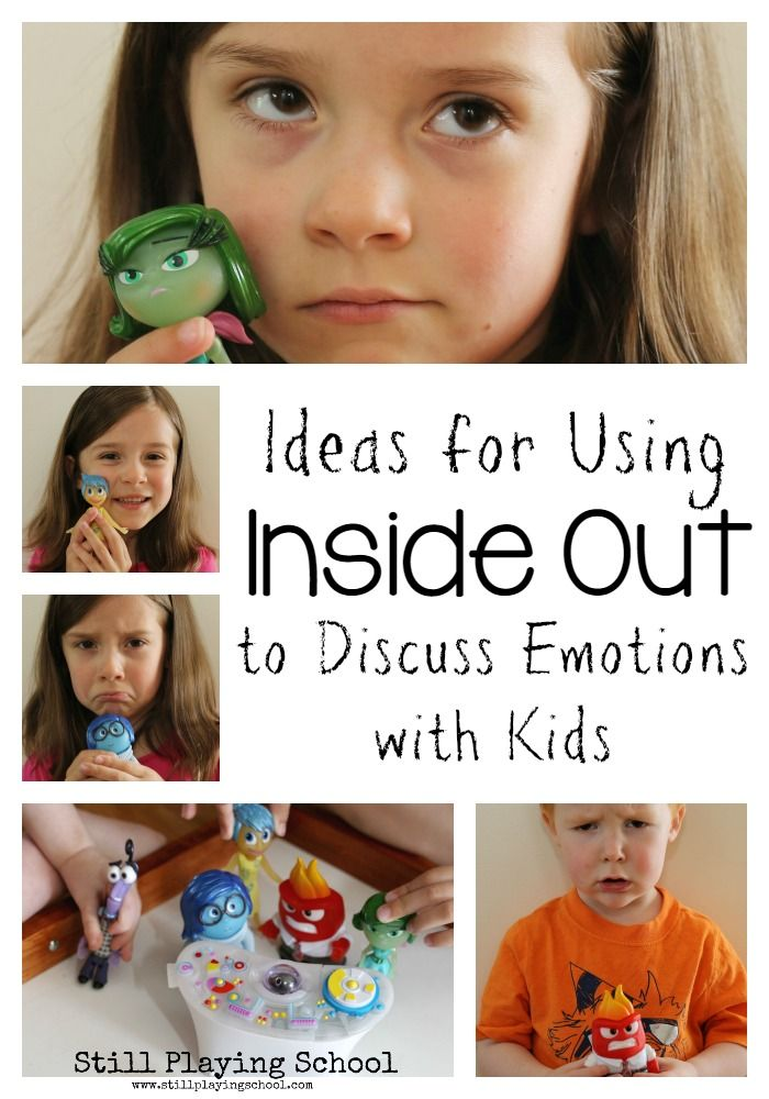 Ideas for Using The Movie and Toys from Inside Out to Discuss Emotions with Kids (Including a FREE printable) from Still Playing School #PlayNGrow #ad