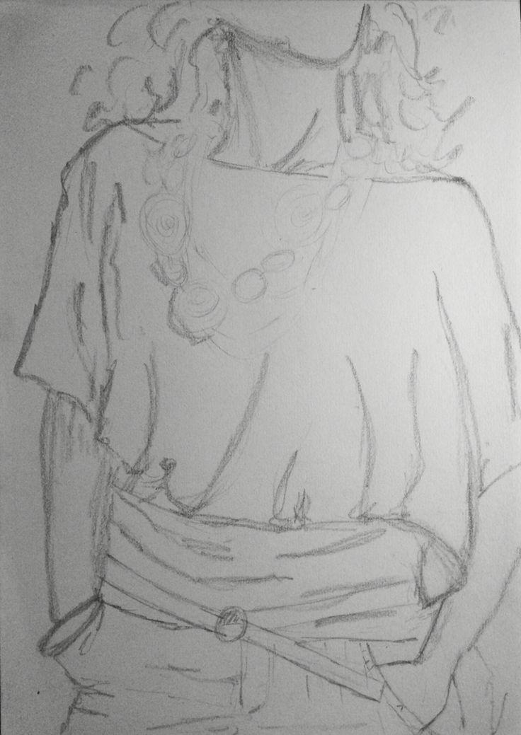Pencil sketch by S.Hughes ~ 29/03/16