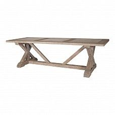 270cms Dining Table – stone inlay