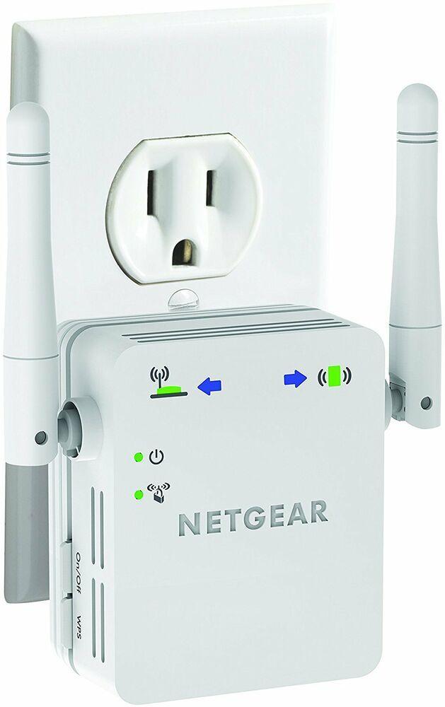 Netgear N300 Wall Plug Version Wi Fi Range Extender Wn3000rp Netgear Netgear Wifi Best Wifi