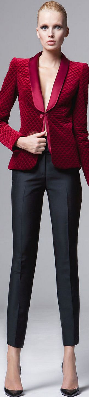 Zuhair Murad FALL 2014/2015 RTW - my favourite designer can also design nice garments that aren't dresses