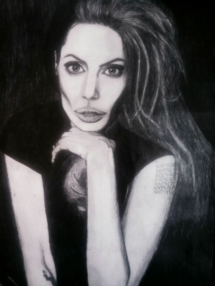 Drawing, art, draw, draws, paper, pencil, crayons, colours, angelinajolie, black, makeup, life, drawingbykamila, cute, sweet, picture, mywork, hobby, myartwork, artwork, blogger, artist