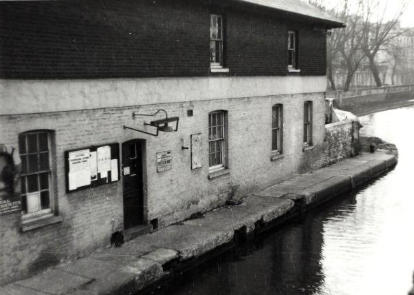 "Caption: ""Paddington Toll Office on the Grand Union Canal"""