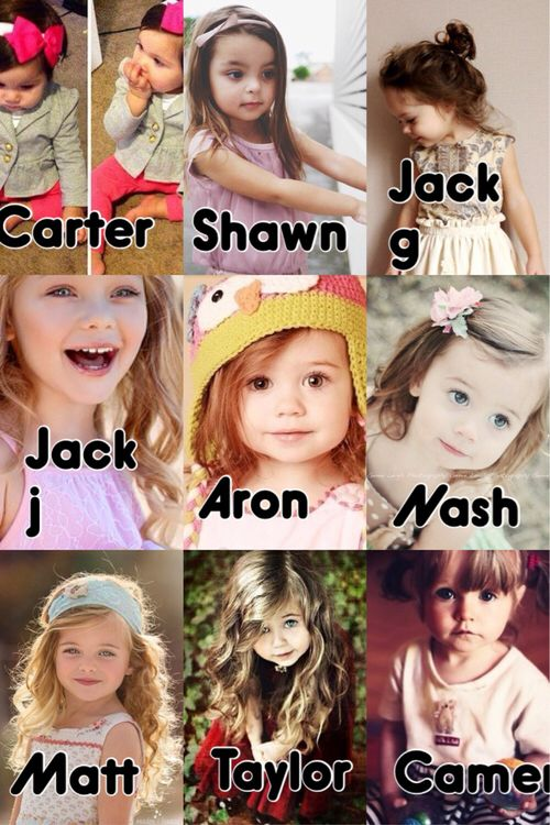 Your baby girl with the Magcon BoysShawn's baby girl is my precious baby ❤️❤️