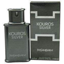 Kouros Silver By Yves Saint Laurent Edt Spray 1.6 Oz