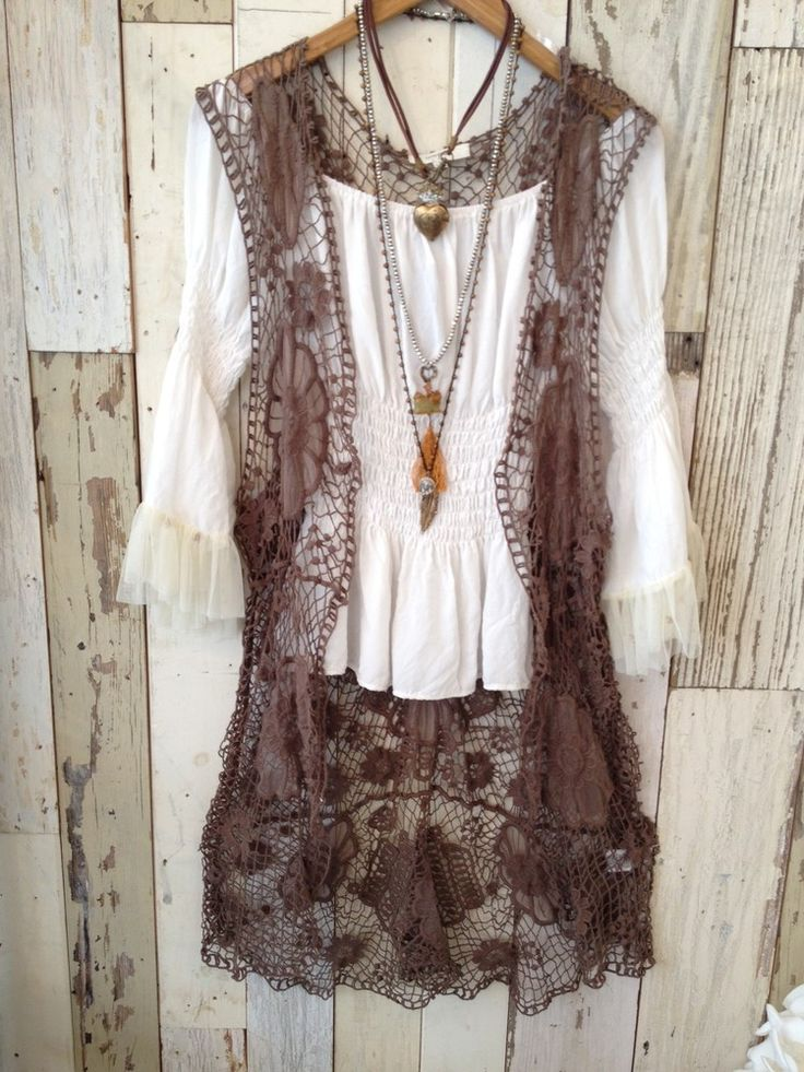 Long Lace Vest // http://www.melissabengecollection.com