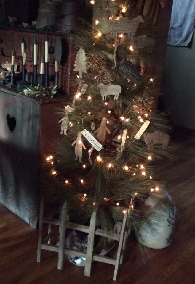 881 best christmas ideas images on Pinterest Prim christmas - primitive christmas decorations