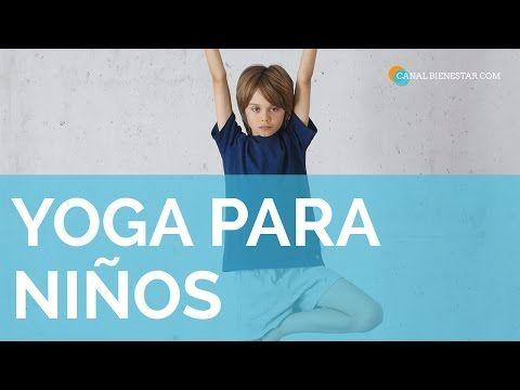 Yoga Niños - Para jugar y estudiar mejor - YouTube