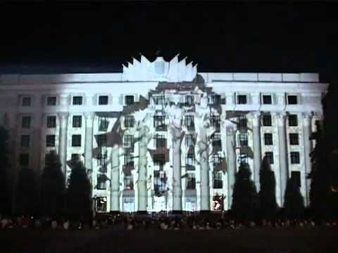 amazing 3d projections on on buildings (click through for about a dozen videos)
