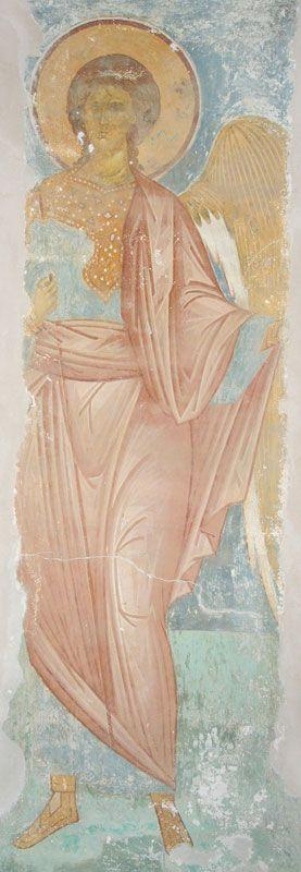 Музей фресок Дионисия - Купол, барабан и паруса - Архангел Уриил