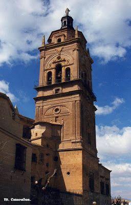 Torre de la Catedral de Guadix, Granada.