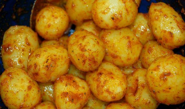 Kartofler i ovn - nye kartofler kan anvendes