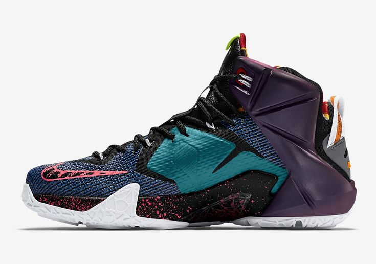 "A History Of Nike Featured On The ""What The"" LeBron 12 - SneakerNews.com"