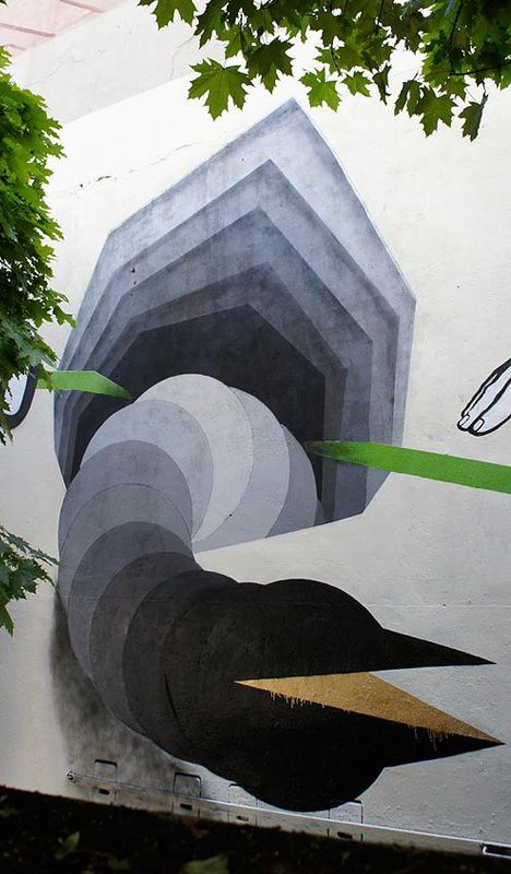 Best D Images On Pinterest Optical Illusions Urban Art And - Incredible optical illusion street art 1010