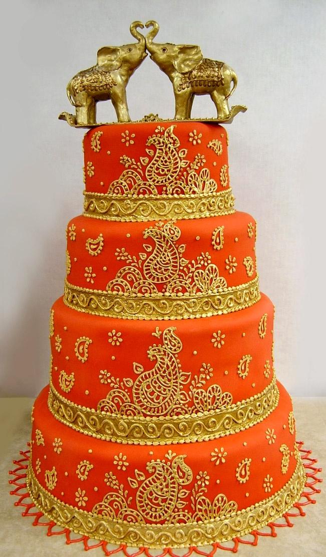 #Indian #Wedding #Cakes