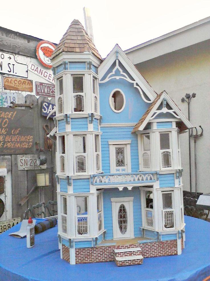 58 Best D7 Painted Lady Dollhouses Images On Pinterest