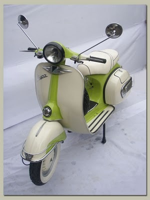 1972 Vespa in Olive Green