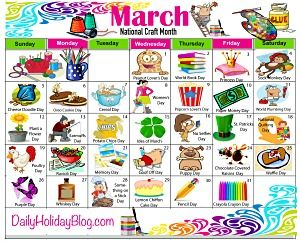 Get a free daily holiday calendar at Daily Holiday Blog — Where every day is a celebration!