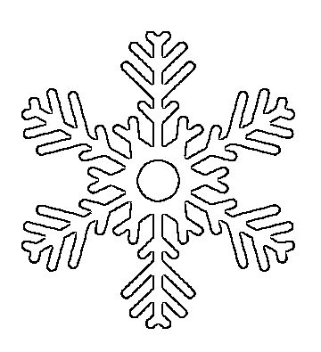 Best Frozen Room Images On   Snowflake Template
