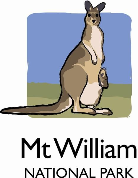 Mount William National Park, Tasmania, Australia. Logo.