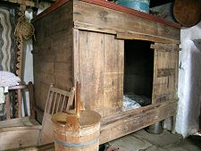 Box Bed, Shetland Crofthouse Museum