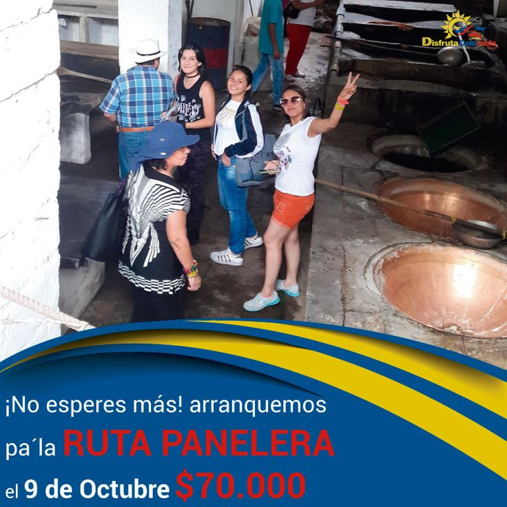 #vamonosdefinde pa' la #rutapanelera con #disfrutaocolombia