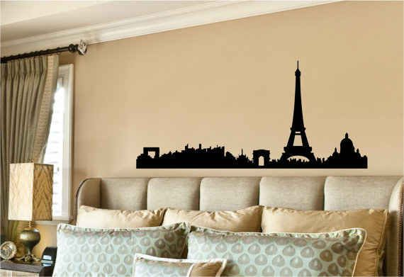 And the Parisians .   17 Spectacular Wall Decals That Will Totally Change Your Space