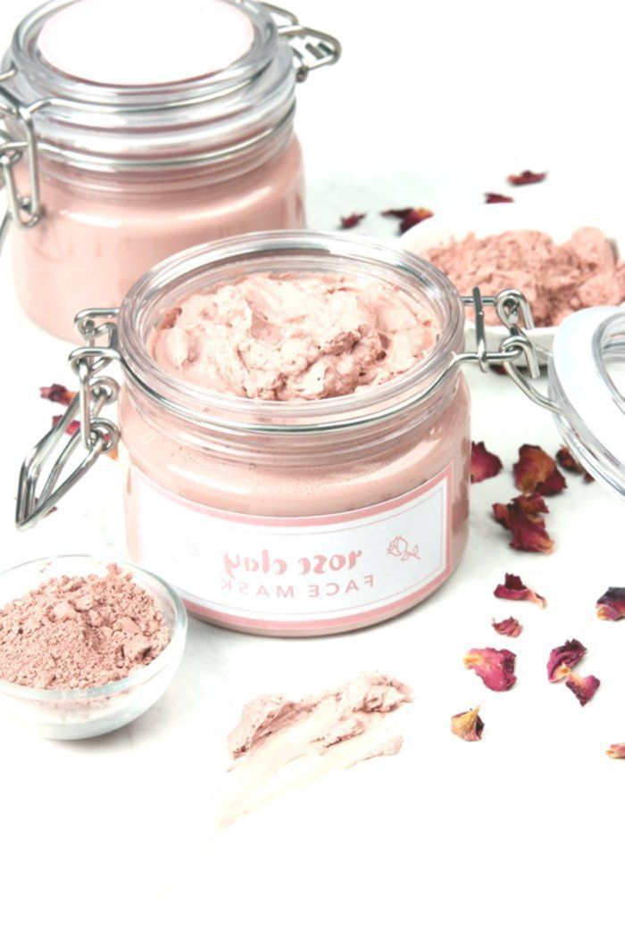 # Skin Care Recipes-This recipe for the Rose Clay Face Mask is perfect for tr ...  -  Hautpflege-Rezepte