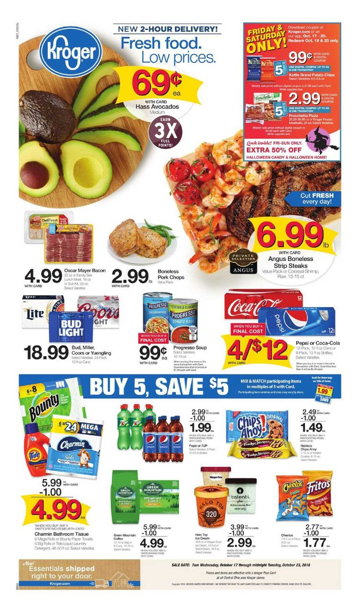 Kroger weekly ad flyer march 11 17 2020 with images