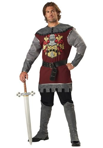 What fair maiden can resist a knight in shining armor? Save the day in this Noble Knight Costume and impress the ladies with one stroke of your sword!