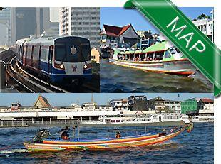 Bangkok Transport Map