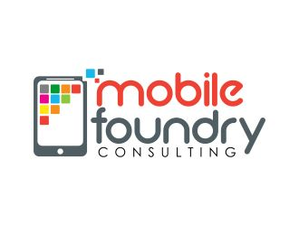 Amazing #mobile #logo design bought at Logo123.com