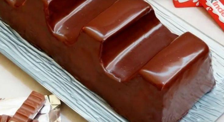 Du dachtest, du musst Kinder-Schokolade immer kaufen? So kannst du sie in riesengroß selbst machen.