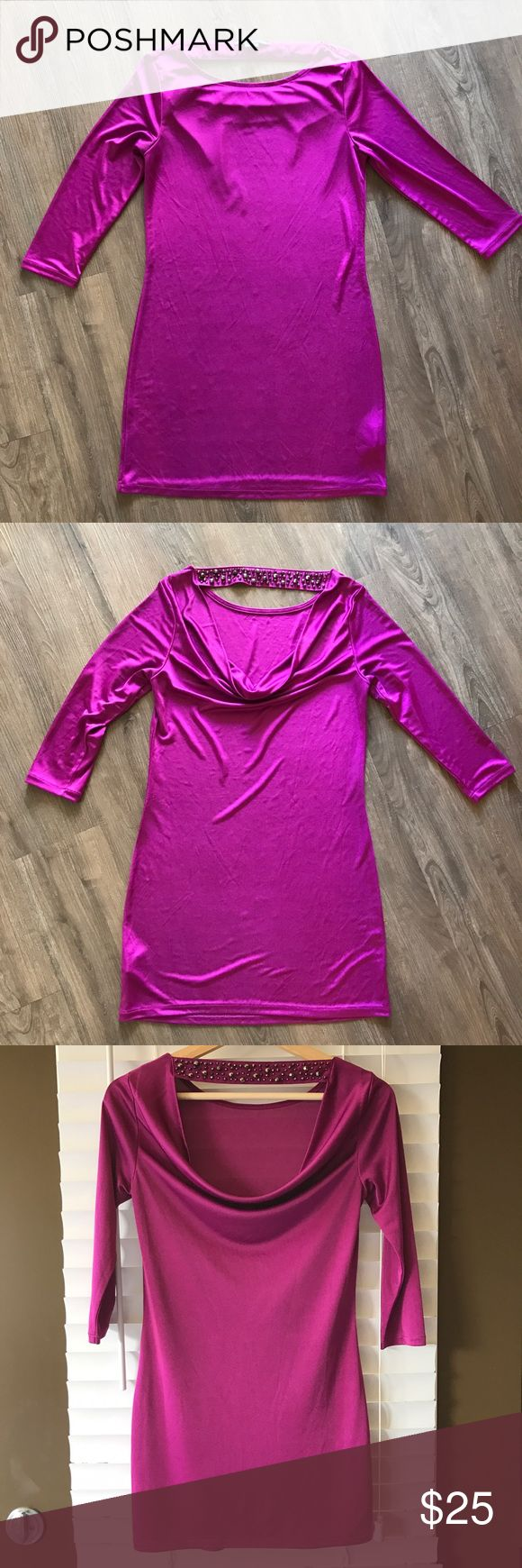 ARMANI dress/ blouse Beautiful silky long blouse, perfect with leggings, excellent condition! A/X Armani Exchange Tops Blouses