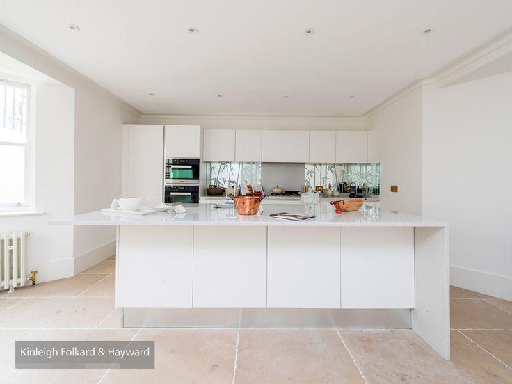 #white #tile #kitchen #kfh