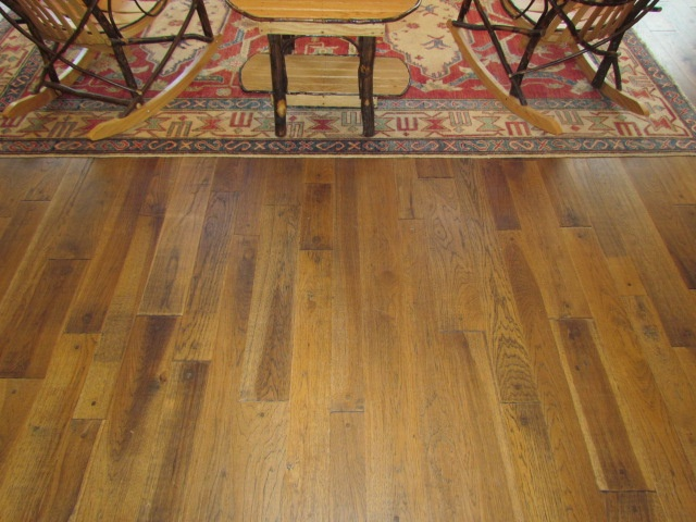 Square Peg Whiskey Hickory hardwood flooring from TWF. #hickoryflooring  #squarepegflooring #handdistressed # - The 29 Best Images About Tennessee Wood Flooring On Pinterest