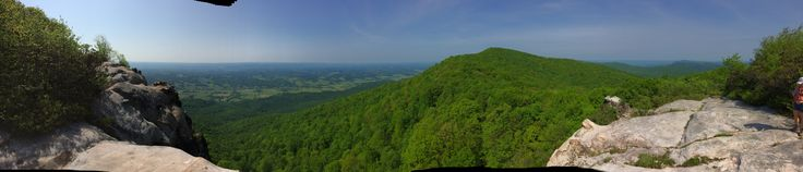 View from White Rocks, Cumberland Gap National Historical Park, Kentucky, Virginia
