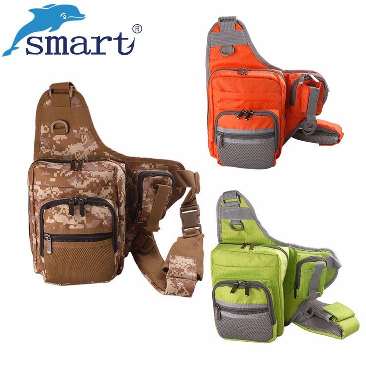 28*21*9.5cm Fishing Bag Multifunctional Waterproof Canvas Material Fishing Bags Lure Bag Large Fishing Backpack Bolso De Pesca