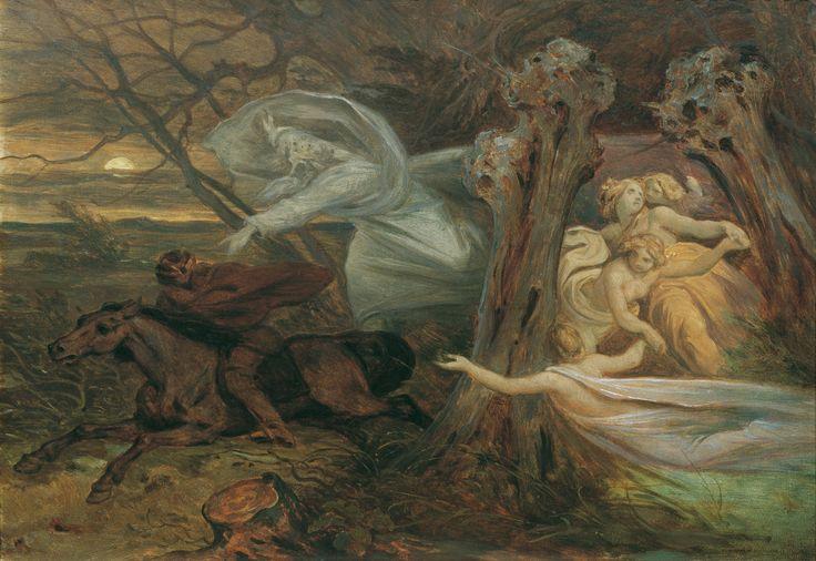 Der Erlkönig, 1830  ~ by Moritz Ludwig von Schwind